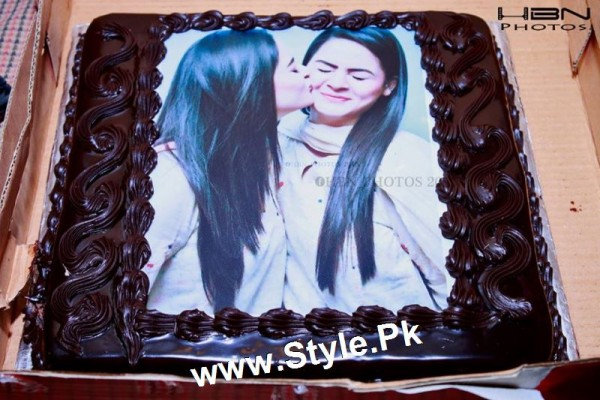 Birthday Celebrations of twins celebrities Aiman Khan and Minal Khan (14)