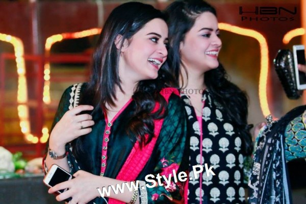 Birthday Celebrations of twins celebrities Aiman Khan and Minal Khan (18)