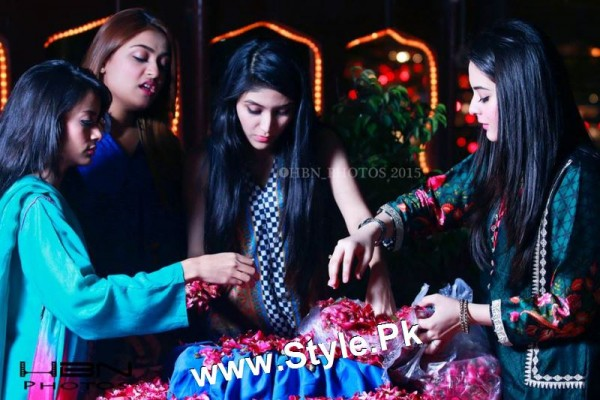 Birthday Celebrations of twins celebrities Aiman Khan and Minal Khan (20)