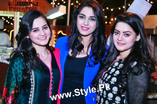 Birthday Celebrations of twins celebrities Aiman Khan and Minal Khan (25)