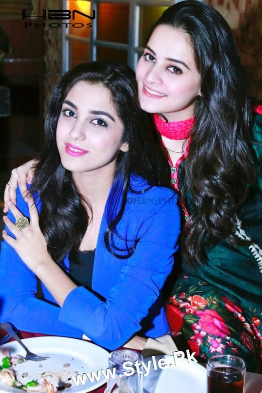 Birthday Celebrations of twins celebrities Aiman Khan and Minal Khan (27)
