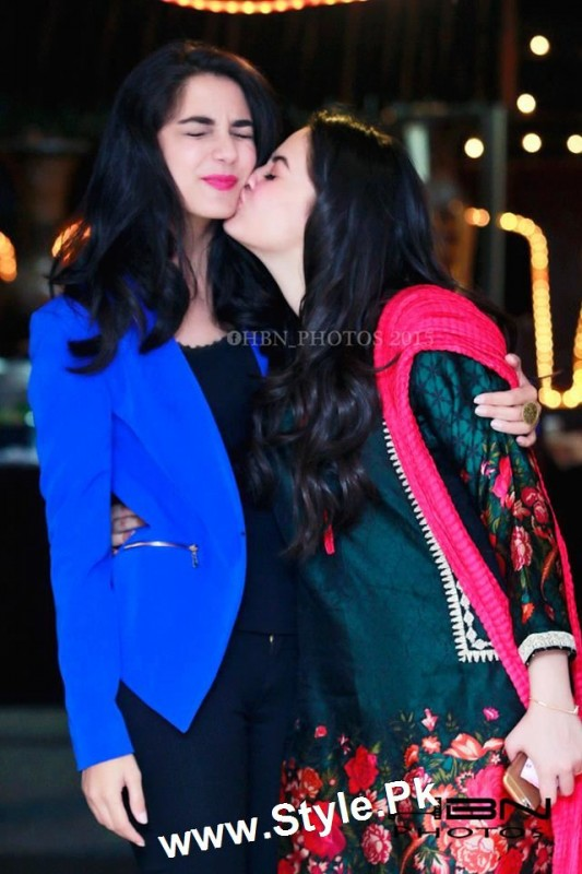 Birthday Celebrations of twins celebrities Aiman Khan and Minal Khan (28)