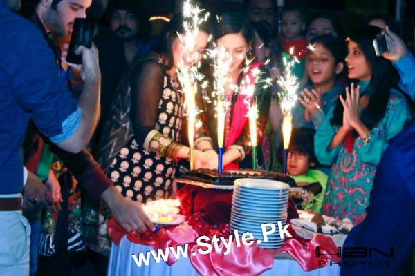 Birthday Celebrations of twins celebrities Aiman Khan and Minal Khan (5)