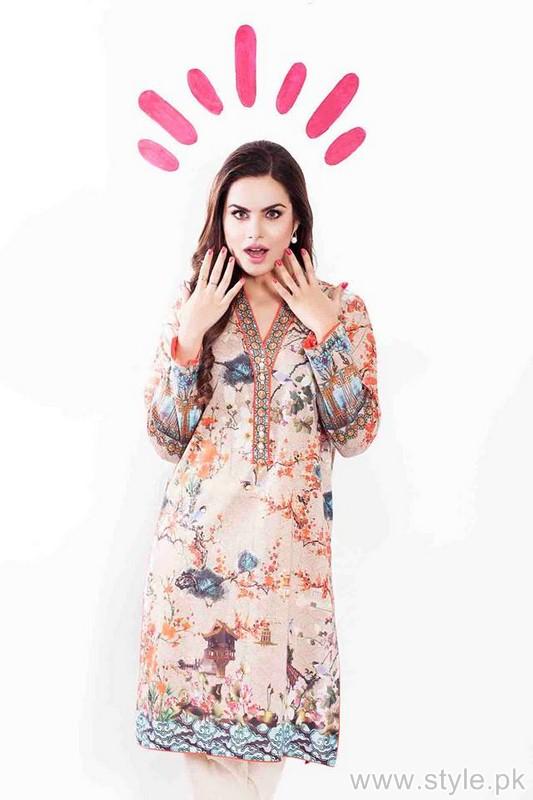 Cross Stitch Winter Dresses 2015 For Women 2