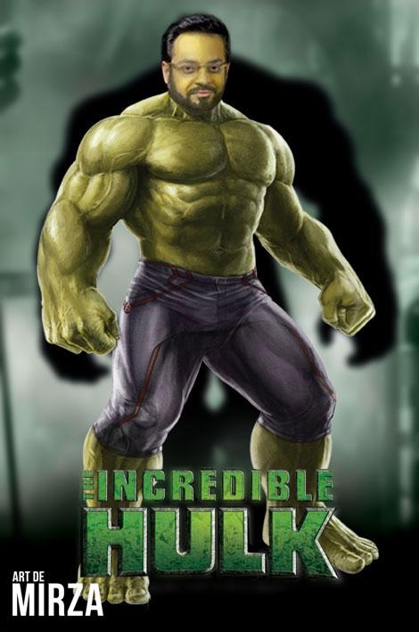 Dr. aamir liaquat as hulk