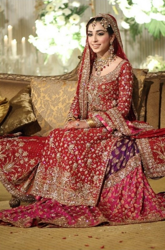 Red Latest Bridal Dresses