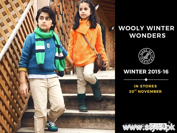 Leisure Club Winter Collection 2015 For Kids 3