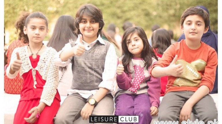 Leisure Club Winter Collection 2015 For Kids