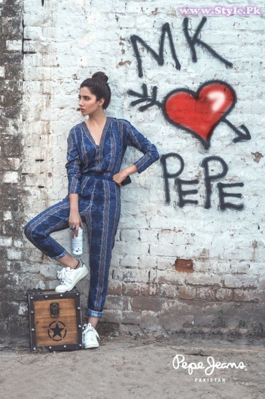Mahira Khan for Pepe Jeans Pakistan Winter 2015 Campaign - #MKLovesPepe (13)