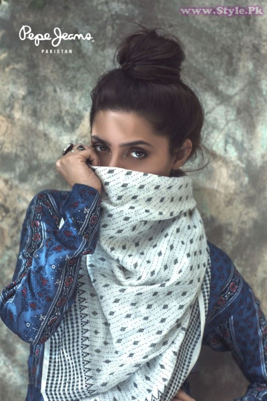 Mahira Khan for Pepe Jeans Pakistan Winter 2015 Campaign - #MKLovesPepe (14)