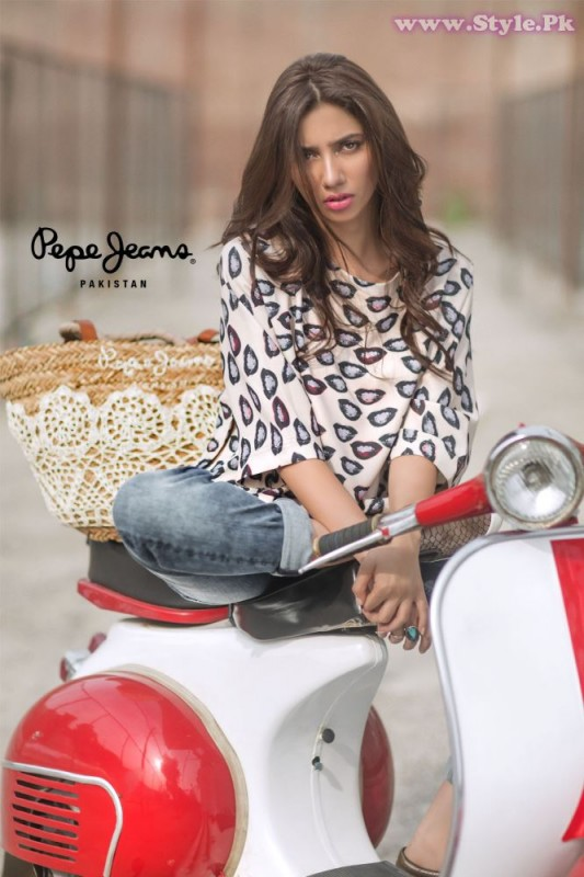 Mahira Khan for Pepe Jeans Pakistan Winter 2015 Campaign - #MKLovesPepe (3)