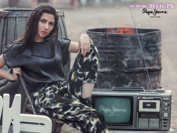 Mahira Khan for Pepe Jeans Pakistan Winter 2015 Campaign - #MKLovesPepe (7)