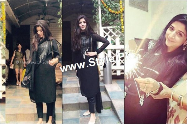 Mawra Hocane is celebrating Diwali 2015 in Mumbai (5)