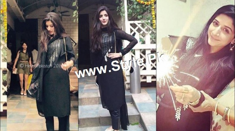 See Mawra Hocane is celebrating Diwali 2015 in Mumbai