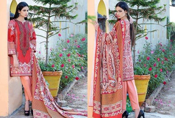 Motifz Karandi And Linen Collection 2015 For Women0014