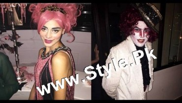See Pakistani Celebrities who looked ugly on Halloween Party 2015