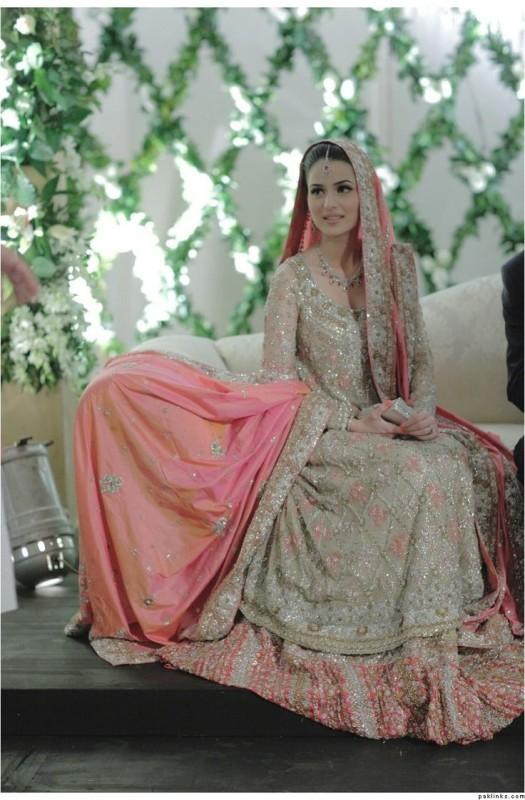 Sky Blue Wedding Dress 57 Fresh Peach Pink Pakistani Walima