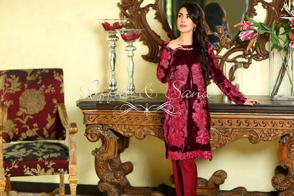 Sana Salman Semi Formal Wear Collection 2015 For Women0011