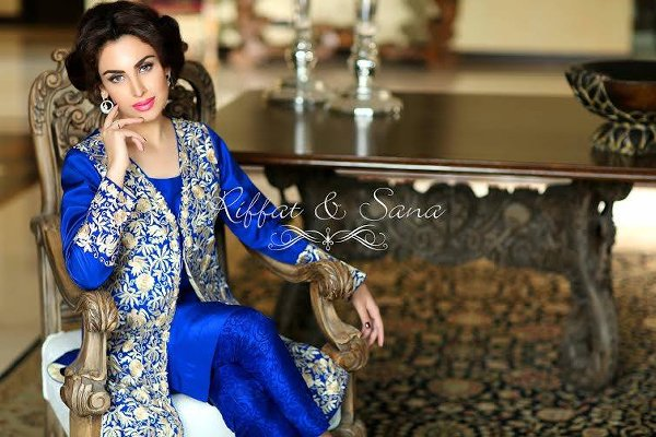 Sana Salman Semi Formal Wear Collection 2015 For Women997