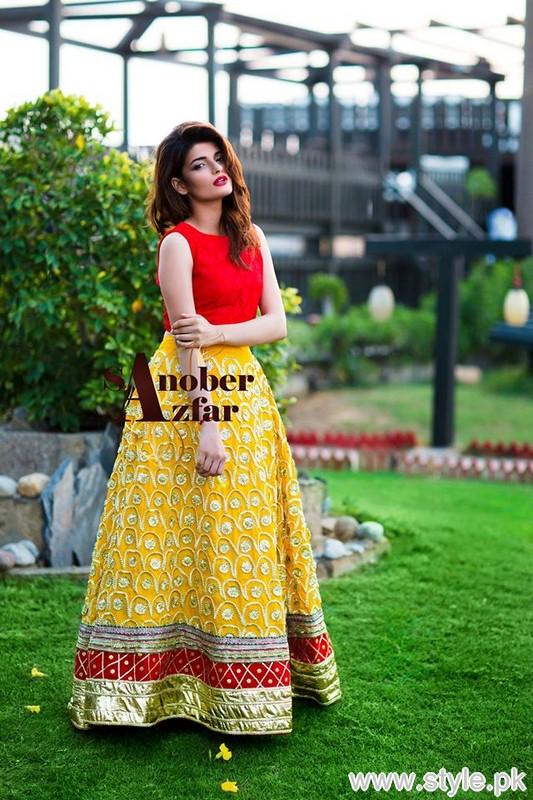 Sanober Azfar Formal Dresses 2015 For Women 1