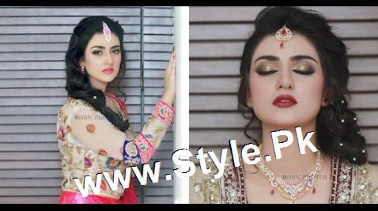 See Sara Khan's Bridal Photoshoot