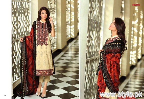Shaista Cloth Winter Dresses 2015 For Women 11