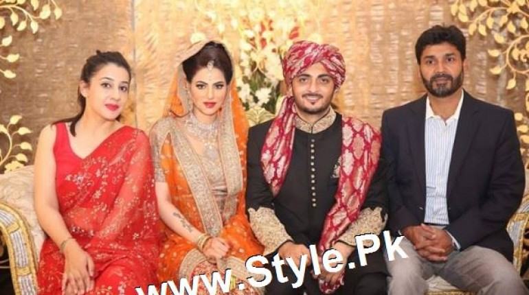 Singer Annie Khalid's 2nd marriage's pictures