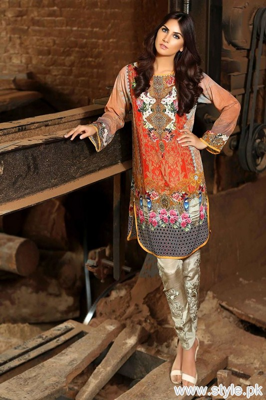 Sobia Nazir Autumn Fall Pret Collection 2015 For Girls 6