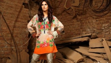 Sobia Nazir Autumn Fall Pret Collection 2015 For Girls 7