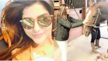 Sohai Ali Abro Hollywood tour pictures latest