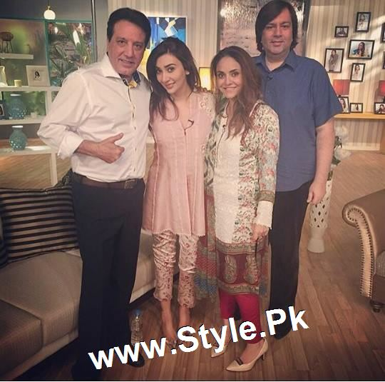 Some precious moments from Nadia Khan Show (2)