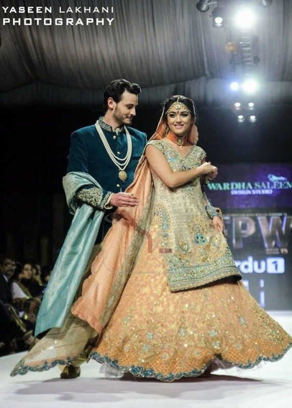 Super Hit Couple Wali and Farah as show stopper of FPW15 (2)