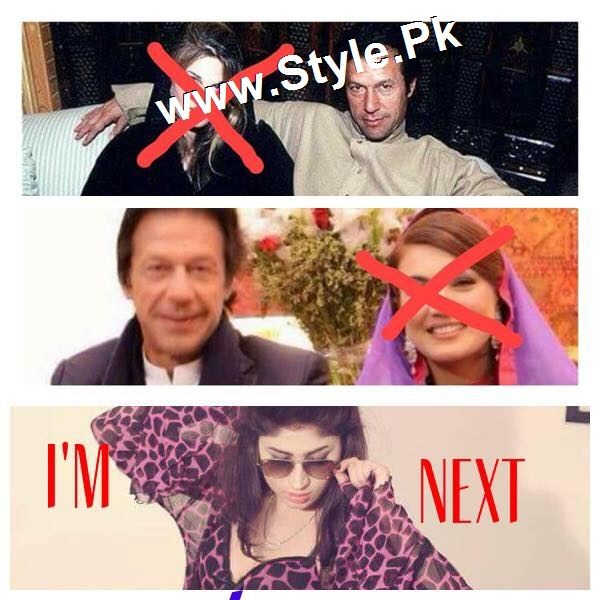 See Supermodel Qandeel Baloch Proposed Imran Khan
