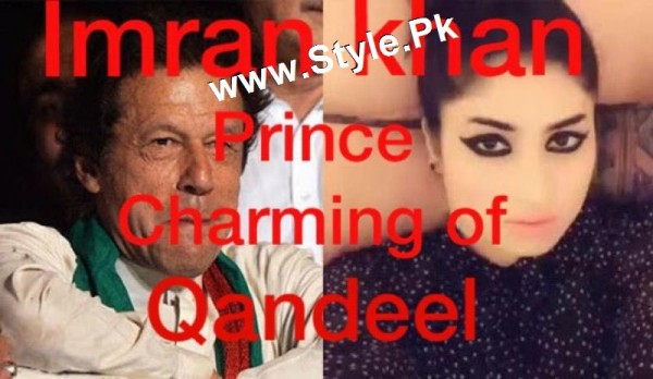 Supermodel Qandeel Baloch Proposed Imran Khan (2)