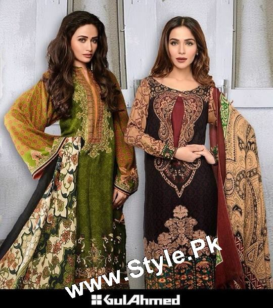 Which Celebrity looked best in Gul Ahmed Winter Collection 2015 (10)