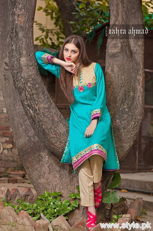 Zahra Ahmad Winter Collection 2015 For Women 3