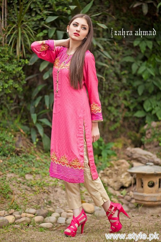80f2f33cf35c Zahra Ahmad Winter Collection 2015 For Women