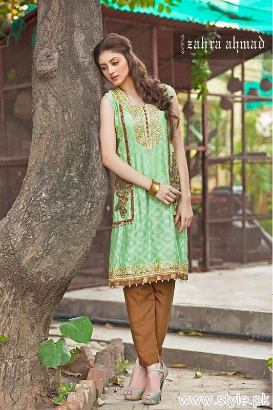 Zahra Ahmad Winter Collection 2015 For Women 5