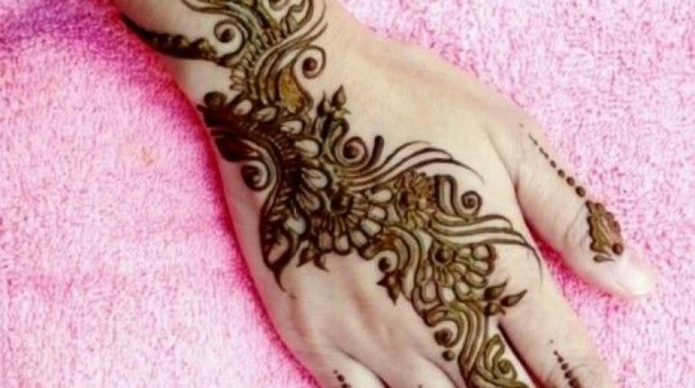 Mehndi Modern Arabic : Arabic mehndi designs