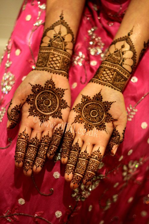 Mehndi For Inner Hand : Bridal mehndi designs