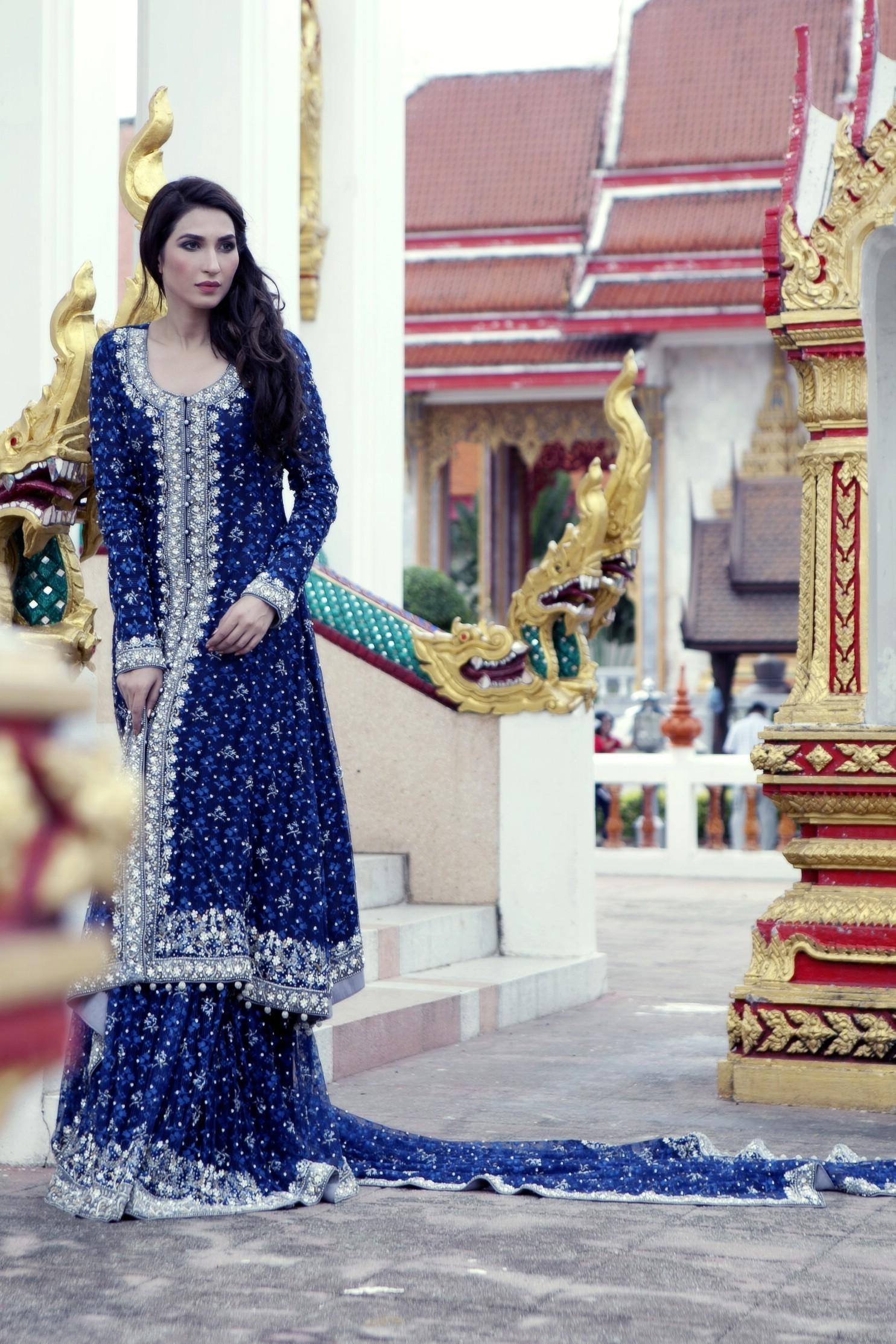 Modern dress of pakistan 2016 - Pakistan Bridal Makeup Ideas 2016 Style Pk Bridal Dresses 2016