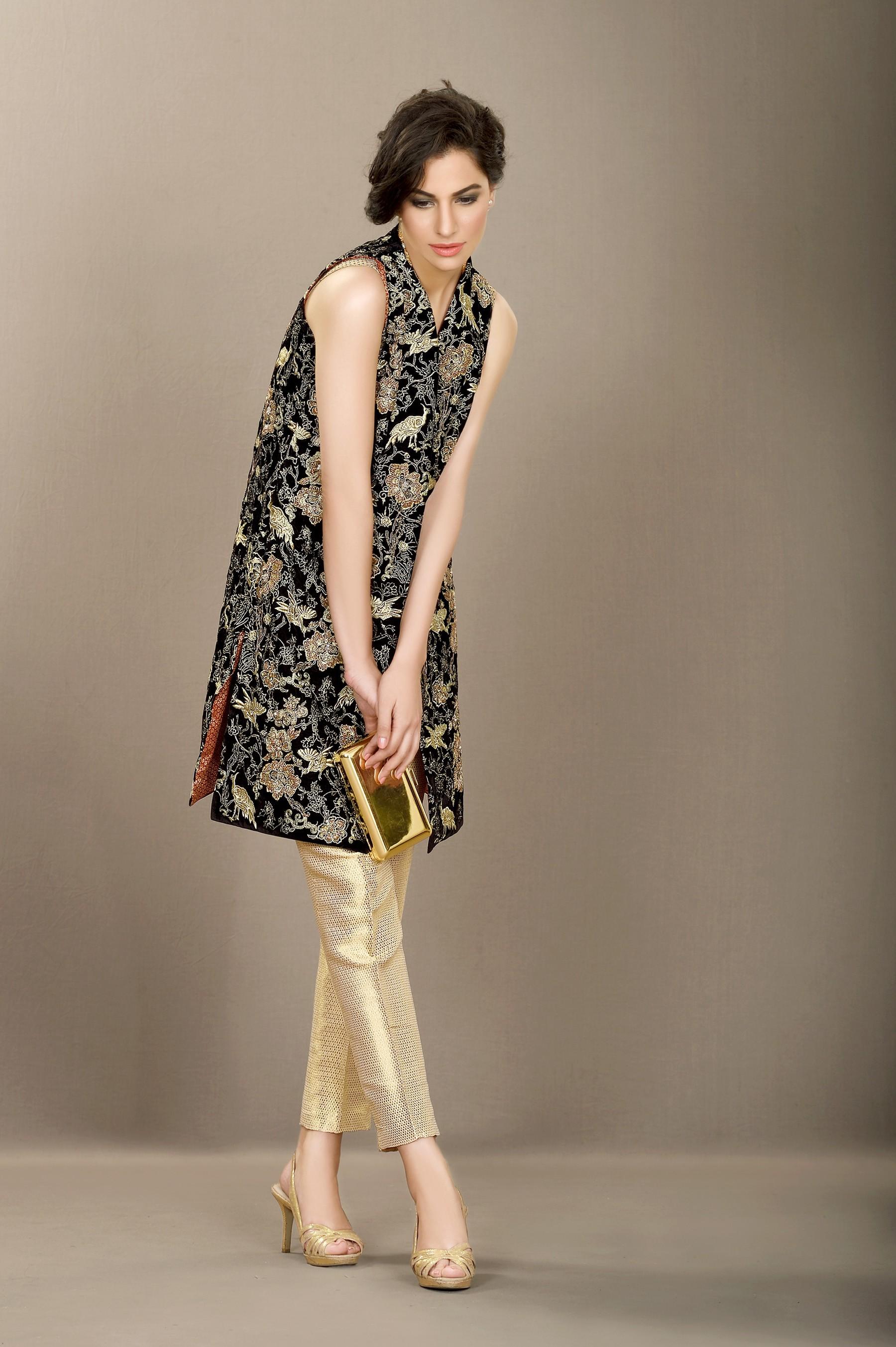 golden wedding dress 2