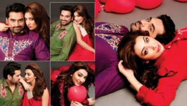 humayun saeed and ayesha khan 1