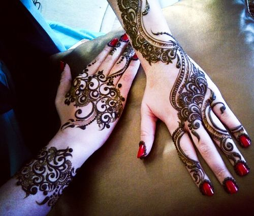 indian mehndi design - 2
