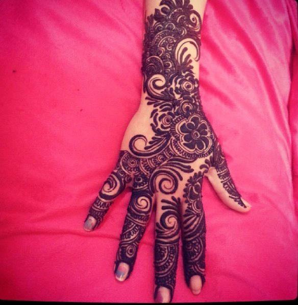 indian mehndi design 2016-arabic