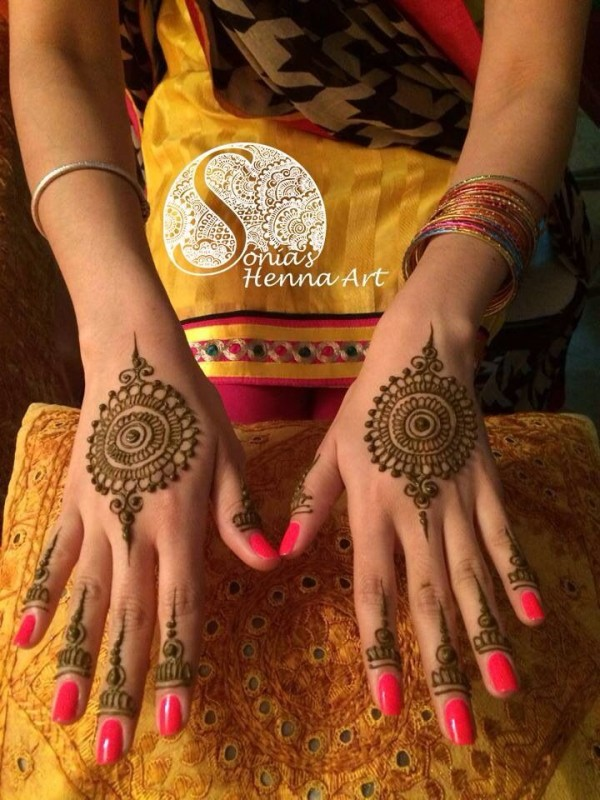 indian mehndi desins-sonia