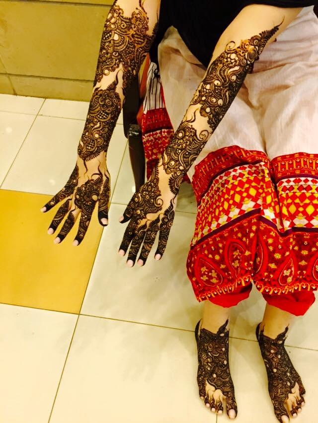 Bridal Mehndi New York : Latest bridal mehndi designs