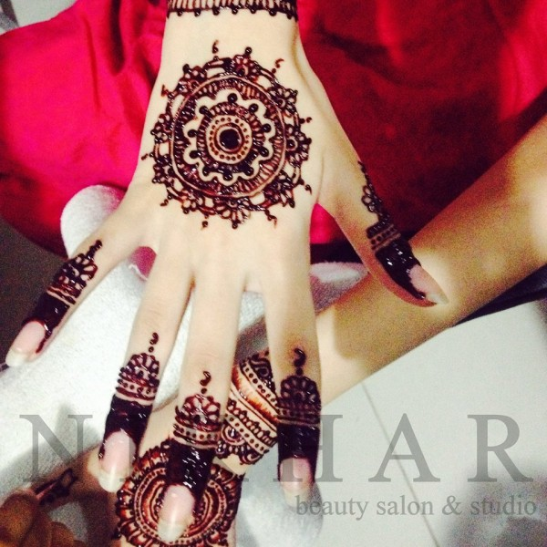 latest henna designs 2016