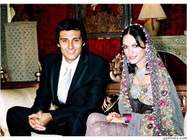 meera ansari with husband