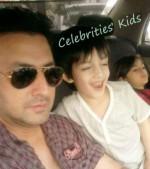 pakistani actor babar ali kids